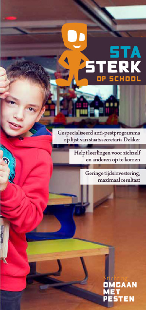Download de folder 'antipestprogramma Sta Sterk op School'