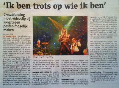 Witte Weekblad 15 feb18 Rosanne Kok interview Joyce